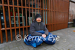 Ian Alexander who sleeps on the streets of Killarney town