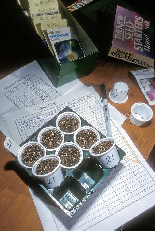 Starting plants from seeds