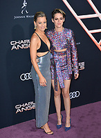 """LOS ANGELES, USA. November 12, 2019: Elizabeth Banks & Kristen Stewart at the world premiere of """"Charlie's Angels"""" at the Regency Village Theatre.<br /> Picture: Paul Smith/Featureflash"""