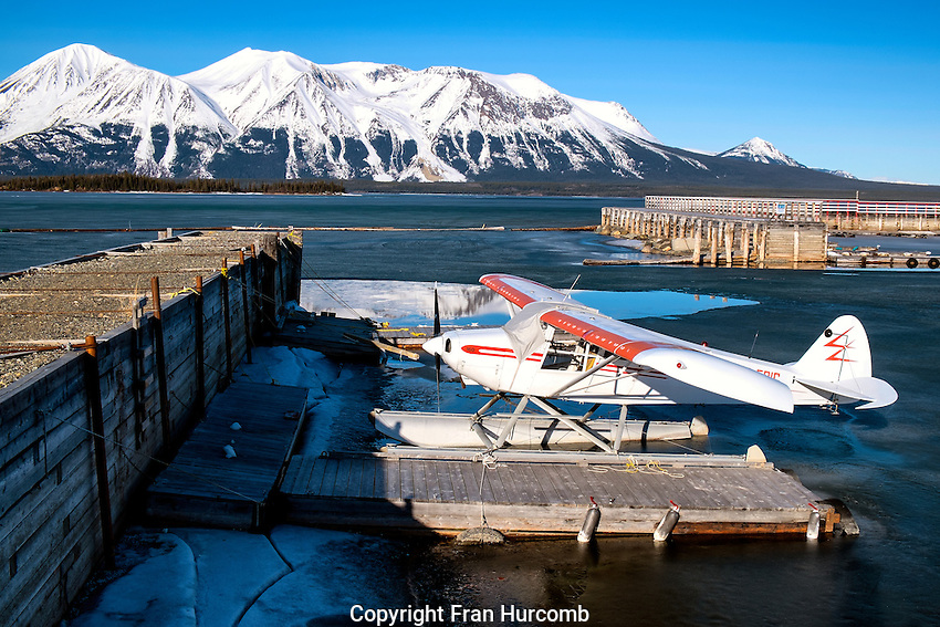 Float plane on Atlin lake