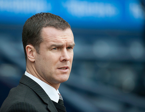 GLASGOW, SCOTLAND - JANUARY 28:  Ayr United Boss Brian Reid during the Scottish Communities Cup Semi Final match between Ayr United and Kilmarnock at Hampden Park on January 28, 2012 in Glasgow, United Kingdom. (Photo by Rob Casey/Getty Images).