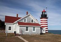 West Quoddy Light #2, Lubec, Maine
