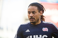 BRONX, NY - Sunday October 25, 2015: New York City FC loses 1-3 the New England Revolution at home at Yankee Stadium during the 2015 MLS regular season.