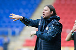 St Johnstone v Hartlepool…22.07.17… McDiarmid Park… Pre-Season Friendly<br />Hartlepool manager Craig Harrison<br />Picture by Graeme Hart.<br />Copyright Perthshire Picture Agency<br />Tel: 01738 623350  Mobile: 07990 594431