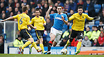 Lee Wallace attacks for Rangers