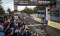 Best rider of the first cyclocross months, Eli Iserbyt (BEL/Pauwels Sauzen-Bingoal) bagging yet another race win<br /> <br /> Elite & U23 Mens Race<br /> 42nd Superprestige cyclocross Gavere 2019<br /> <br /> ©kramon