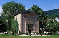 Deutschland, Baden-Württemberg, Trinkhalle im Kurpark von Baden-Baden
