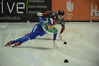 SPEEDSKATING: DORDRECHT: 05-03-2021, ISU World Short Track Speedskating Championships, Heats 500m Men, Pietro Sighel (ITA), ©photo Martin de Jong