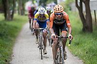 Taco van der Hoorn (NED/Roompot-Nederlandse Loterij)<br /> <br /> Dwars door het Hageland (1.1)<br /> 1 Day Race: Aarschot > Diest (194km)