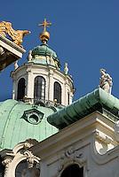 Karlskirche von 1737, Wien, Österreich, UNESCO-Weltkulturerbe<br /> Charles church from 1737, Vienna, Austria, world heritage