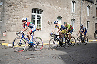 Marlon Gaillard (FRA/Total - Direct Energie at the front in the breakaway group<br /> <br /> 84th La Flèche Wallonne 2020 (1.UWT)<br /> 1 day race from Herve to Mur de Huy (202km/BEL)<br /> <br /> ©kramon