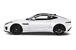 Car Driver side profile view of a 2019 Jaguar F-Type R-Dynamic 2 Door Coupe Side View