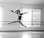 Studio Rehearsals by Dancers of the Professional Training Program at Cary Ballet Conservatory,   March 2016