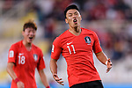 Hwang Heechan of South Korea reacts during the AFC Asian Cup UAE 2019 Group C match between South Korea (KOR) and China (CHN)  at Al Nahyan Stadium on 16 January 2019 in Abu Dhabi, United Arab Emirates. Photo by Marcio Rodrigo Machado / Power Sport Images