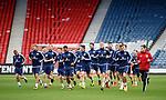 Scotland training at Hampden