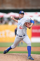 June 6, 2009: Aaron Shafer (40) of the Peoria Chiefs at Elfstrom Stadium in Geneva, IL..  Photo by: Chris Proctor/Four Seam Images