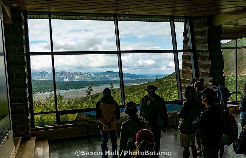 Eieklson Visitor Center, Denali National Park, Alaska;  Pacific Horticulture tour Botanical Alaska 2019