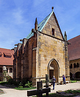 gotische Annenkapelle im Kreuzgang des Mariendom,  Hildesheim, Niedersachsen, Deutschland, Europa, UNESCO Weltkulturerbe<br /> Gothic chapel of St. Anne in cloister, Cathedral of St. Mary Hildesheim, Lower Saxony, Germany, Europe, UNESCO Heritage Site