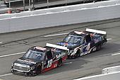 #18: Harrison Burton, Kyle Busch Motorsports, Toyota Tundra Safelite AutoGlass, #4: Todd Gilliland, Kyle Busch Motorsports, Toyota Tundra Mobil 1