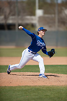 Kansas City Royals relief pitcher Tyler Zuber (72) during a Minor League Spring Training game against the Milwaukee Brewers at Maryvale Baseball Park on March 25, 2018 in Phoenix, Arizona. (Zachary Lucy/Four Seam Images)