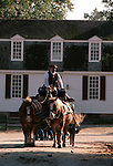 Duke of Gloucester street horse and carriage Colonial Williamsburg Virginia, Fine Art Photography by Ron Bennett, Fine Art, Fine Art photography, Art Photography, Copyright RonBennettPhotography.com ©