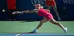 Angelique Kerber (GER) wins  at the Western and Southern Financial Group Masters Series in Cincinnati on August 17, 2012