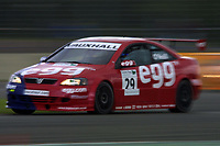 Round 4 of the 2002 British Touring Car Championship. #29 Paul O'Neill (GBR). Egg Sport. Vauxhall Astra Coupé.