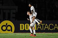 Rio de Janeiro (RJ), 21/03/2021  - Vasco-Botafogo - Jogadores do Botafogo comemoram gol,durante partida contra o Vasco,válida pela 4ª rodada da Taça Guanabara 2021,realizada no Estádio de São Januário,na zona norte do Rio de Janeiro,neste domingo (21).