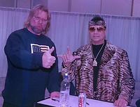 Jimmy Snuka & Jim Duggan 1998<br /> Photo By John Barrett/PHOTOlink