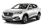2021 Mg EHS Luxury 5 Door SUV Angular Front automotive stock photos of front three quarter view