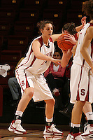 31 January 2008: Stanford Cardinal Ashley Cimino during Stanford's 77-51 win against the USC Trojans at Maples Pavilion in Stanford, CA.