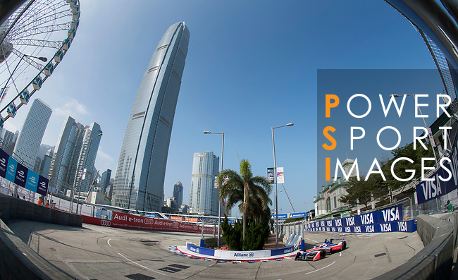 Felix Rosenqvist of Sweden from Mahindra Racing competes in the Formula E Qualifying Session 2 during the FIA Formula E Hong Kong E-Prix Round 2 at the Central Harbourfront Circuit on 03 December 2017 in Hong Kong, Hong Kong. Photo by Victor Fraile / Power Sport Images