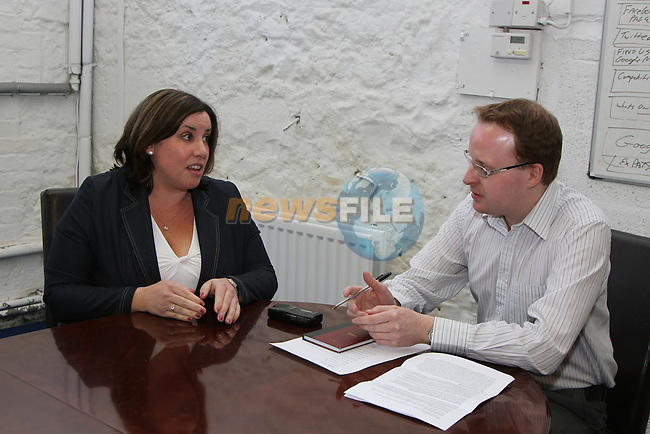 Deborah Mulvey at Spotlight Interview...(Photo credit should read Jenny Matthews www.newsfile.ie)....This Picture has been sent you under the conditions enclosed by:.Newsfile Ltd..The Studio,.Millmount Abbey,.Drogheda,.Co Meath..Ireland..Tel: +353(0)41-9871240.Fax: +353(0)41-9871260.GSM: +353(0)86-2500958.email: pictures@newsfile.ie.www.newsfile.ie.