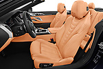 Front seat view of 2019 BMW 8-Series - 2 Door Convertible Front Seat  car photos