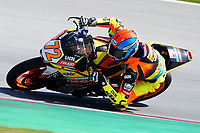 29th March 2021; Barcelona, Spain;  Superbikes, WorldSSP300 , day 1 testing at Circuit Barcelona-Catalunya; Victor Steeman riding KTM RC 390 R from Freudenberg KTM WorldSSP300