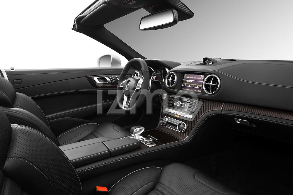 Passenger side dashboard view of a 2013 Mercedes-Benz SL-Class SL63 AMG Convertible