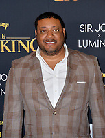 "LOS ANGELES, USA. July 10, 2019: Cedric Yarbrough at the world premiere of Disney's ""The Lion King"" at the Dolby Theatre.<br /> Picture: Paul Smith/Featureflash"