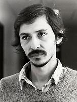 Montreal (QC) CANADA - 1987  file photo -<br /> Victor Reggalado<br /> , refugge from Salvador