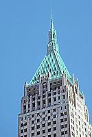 New York: 40 Wall Street, 1929. H. Craig Severance & Yasuo Matsui. Originally Bank of Manhattan, later Chase-Manhattan of which pyramid was the symbol. Photo '91.