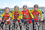 CYCLING CUP: The Dan Morrissey team competing in the Lacey Cycling Cup race on Sunday l-r: Carrig Wheelers, Simon Ryan, Cathal McCarthy, Pat Kenealy and Cian Power.