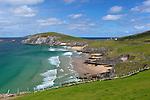 Ireland, County Kerry, The Dingle Peninsula: View over Slea Head to Blasket Sound and islands   Irland, County Kerry, Dingle Halbinsel, Blick ueber Slea Head zum Blasket Sound