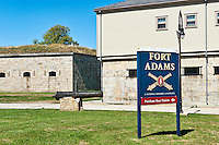 Fort Adams, Newport, RI, Rhode Island, USA