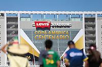 Santa Clara, CA - Saturday June 18, 2016: Stadium during a Copa America Centenario quarterfinal match between Mexico (MEX) and Chile (CHI) at Levi's Stadium.
