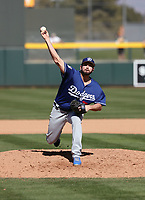 Joe Broussard - Los Angeles Dodgers 2019 spring training (Bill Mitchell)