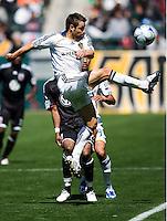 LA midfielder Dema Kovalenko. The LA Galaxy and DC United play to 2-2 draw at Home Depot Center stadium in Carson, California on Sunday March 22, 2009.