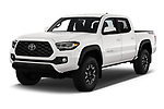 2020 Toyota Tacoma TRD-Off-Road 4 Door Pick-up Angular Front automotive stock photos of front three quarter view