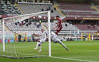 Torino 03-04-2021<br /> Stadio Grande torino<br /> Serie A  Tim 2020/21<br /> Torino - Juventus<br /> Nella foto:     Sanabria goal                              <br /> Antonio Saia Kines Milano