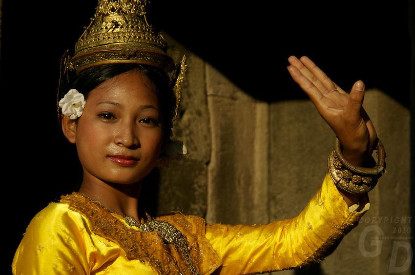 Apsara Dance in the ruins of Ankor Wat