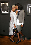 Veronica Ann Farrish and Jeremy O. Harris attends the Vineyard Theatre Paula Vogel Playwriting Award honoring Jeremy O. Harris on October 12, 2018 at the National Arts Club in New York City.