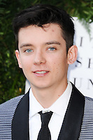 Asa Butterfield<br /> arrives for the One for the Boys charity fashion event at the V&A Museum, London.<br /> <br /> <br /> ©Ash Knotek  D3133  12/06/2016